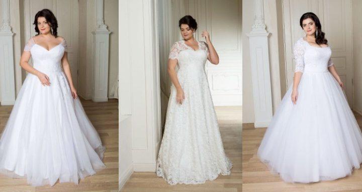 Свадебные платья больших размеров тоже могут быть красивыми