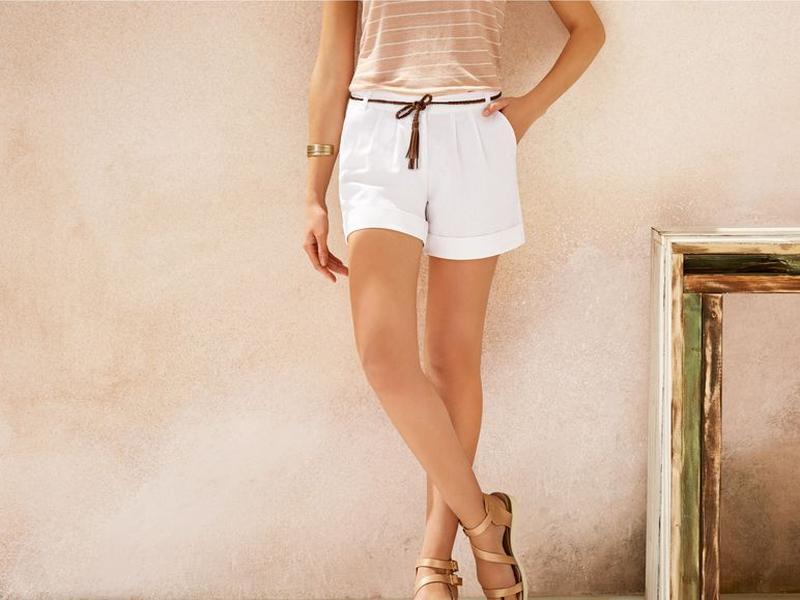 Льняные женские шорты — новый модный тренд